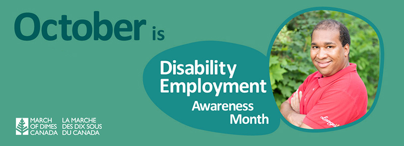 October is Disability Awareness Month - Quincy smiling